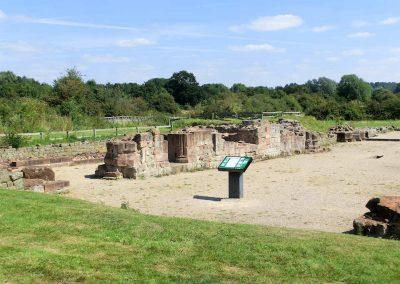 The ruins of Bordesley Abbey