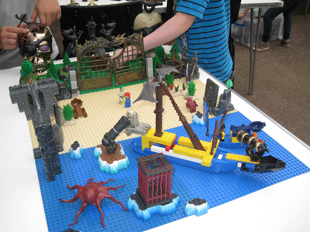 Lego Day at Forge Mill