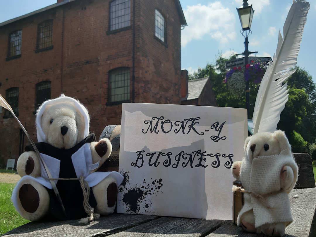 Monk-y Business at Forge Mill