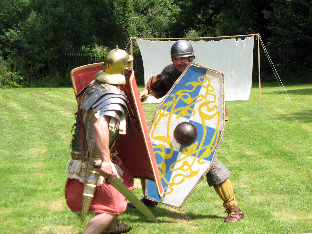 Roman Invasion event at Forge Mill
