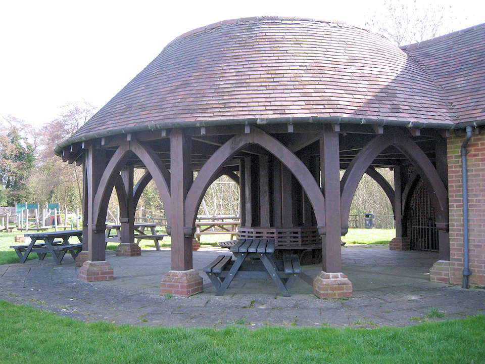 Back Rotunda next to Play Area
