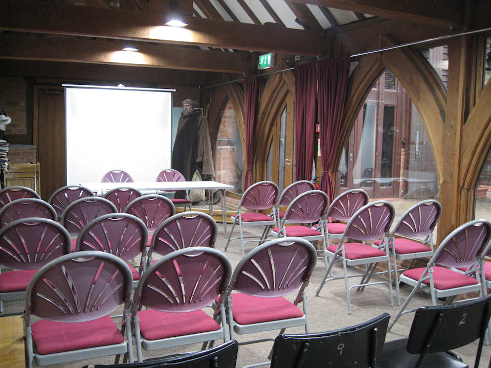 Function Room set out for a lecture/meeting