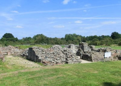 The ruins of Bordesley Abbey