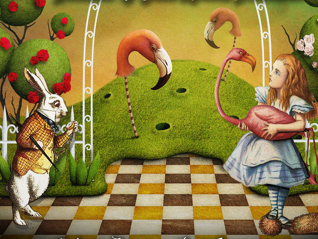 Alice in Wonderland Outdoor Theatre at Forge Mill
