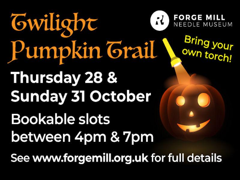Pumpkin Trail at Forge Mill